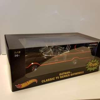 1/18 Batman Batmobile 1966 hot wheels