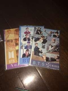 BTS notebooks