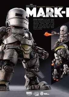 聖誕禮物 全新 野獸國 Egg Attack Action 鐵甲奇俠 Iron Man 3: Iron Man Mark I Mk1 可動 Figure