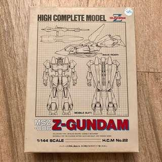 [日版]機動戰士高達 Z-GUNDAM HIGH COMPLETE MODEL