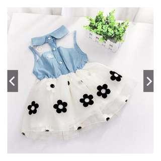 [Pre-Order]Summer Kid Baby Girl Princess Tutu Dress