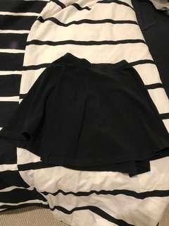 Topshop Petite Skater Skirt
