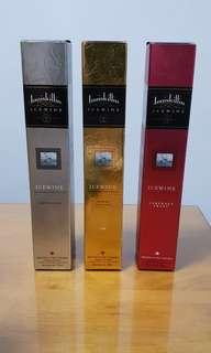Inniskillin ice wine (riesling, vidal, cabernet franc)