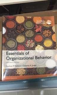 MNO1706 Organisational Behaviour Textbook