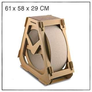 """Wheel"" Cat Scratching Corrugated Board House"