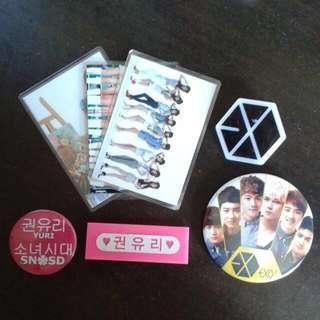 SNSD/EXO Merch Clearance Sale