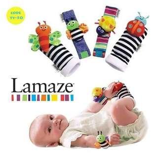 Baby Lamaze Socks and Wrist set
