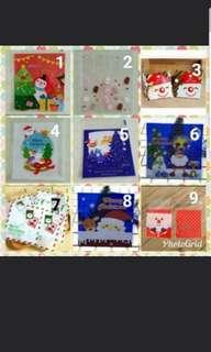 20 pcs🎄10x10cm Christmas Cookie Bag / Goodies Bag