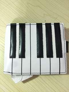 全新日本鋼琴銀包