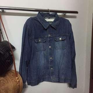 PDI Oversized Denim Jacket
