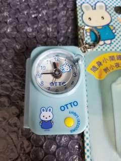 OTTO 隨身小鬧鐘 附小夜燈 OTTO Mini portable alarm clock with light