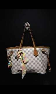Louis Vuitton Neverfull Damier Azur Size PM Reprice