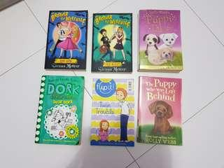 Preloved story books