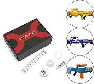 Worker 9kg Mod Spring Kit for Nerf Elite Longshot CS-6 Blue ZombieStrike Long Shot blaster Hasbro TRU