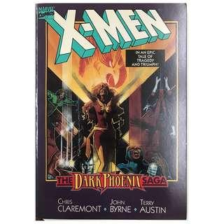 X-MEN THE DARK PHOENIX SAGA TPB (Excellent condition -Sealed in plastic all the while just opened for taking photos)