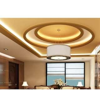 ✅Direct Contractor Price False Ceiling/Cove light ceiling/Plastering/L-box /Light holders