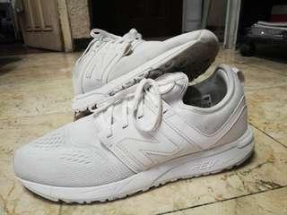 New Balance Revlite 247 All White Shoes Size 10