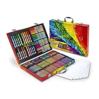 Ready Stock! USA version! *Christmas Gift* Brand New Crayola Inspiration Art Case 140pcs