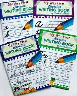My First Cursive Writing Books