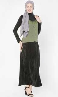 FV Basic pleated skirt