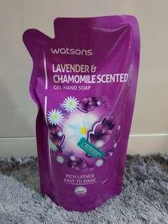 #SBUX50 Lavender & Chamomile scented Gel Hand Soap