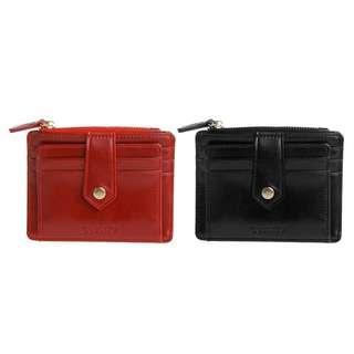 Small Square Short Zipper Wallet
