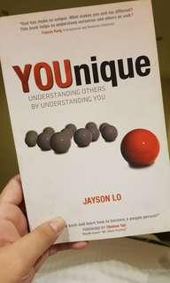 Self-help books: YOUnique by Jayson Lo