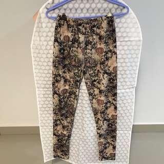 Printed Leggings Pants