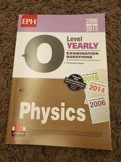 EPH O Level Physics 2006 to 2015