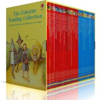 The Usborne Reading Collection - Usborne My Third Reading Library 40 Books