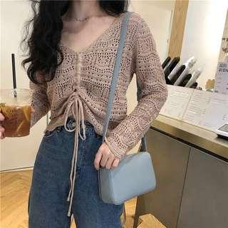 Knitted Long Top