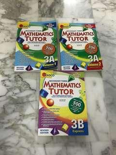 Mathematics Tutor 3A(volume 1), 3A(volume 2) and 3B