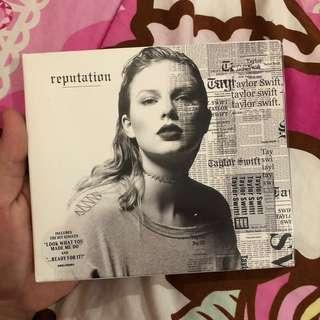 Taylor Swift Reputation Album