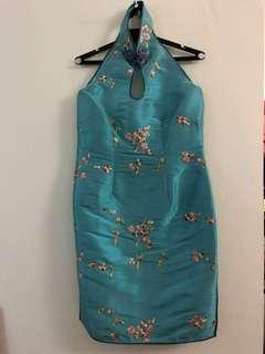Cheongsam dress - 50% off (dress will be giving to charity if no buyer by 10 Nov)