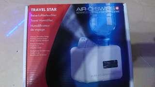 AIR _O_SWISS家庭及旅行裝保濕機90%新