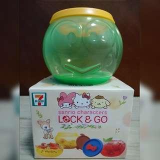 7-11 青蛙仔 lock and go 盒