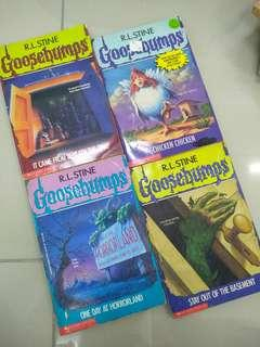 Novel- Goosebumps