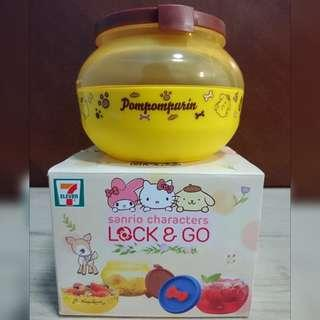 7-11 布甸狗 lock and go 盒