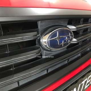 Subaru Levorg Grille Emblem Boot Chrome Dechrome Plastidip Spray Service Plasti Dip