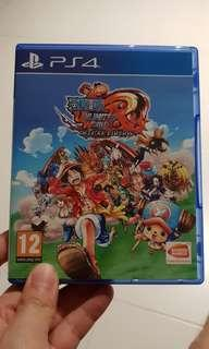 PS 4 - ONE PIECE UNLIMITED WORLD R (used)