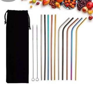 Metal straw stainless steel