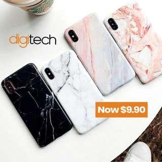 Luxury Marble Case For iPhones 6 & Above