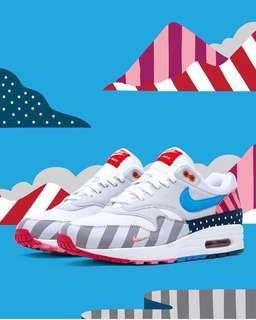 Want to Buy: Nike x Parra Air Max 1
