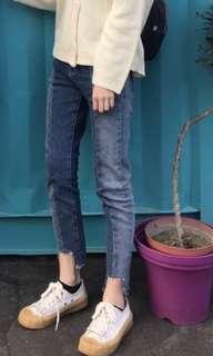 🚚 牛仔褲 9分牛仔褲