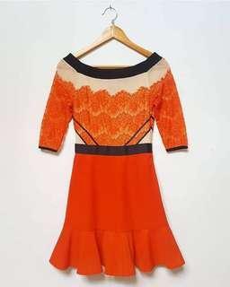 Solemio Lace dress