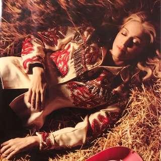 Madonna 麥當娜 MUSIC專集宣傳海報/ Madonna ⚡️Album MUSIC poster 💥⭐️