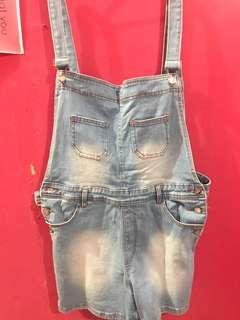 Jumpsuit jeans || levis baju atasan murah! || baju pendek || overall levis