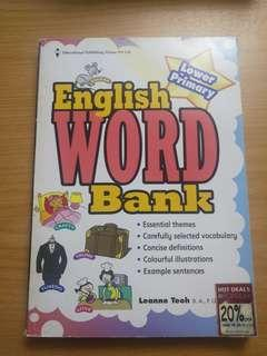 English Word Bank For Lower Primary