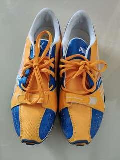 🎇❴清倉價❵ 85%新 Puma黃藍運動鞋