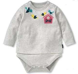 🚚 [PRICE REDUCED] Baby romper - birds print